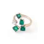 Anello-4-smeraldi-e-brillante_2