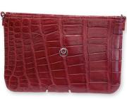 Babette-rossa-Borsa-coccodrillo-con-gioiello